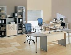 Imago Клен-Венге-Металлик - мебель для персонала