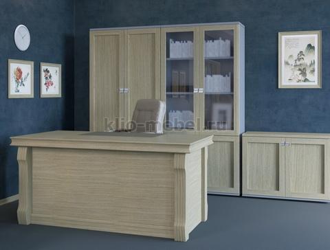 Мебель для кабинета руководителя Lion white