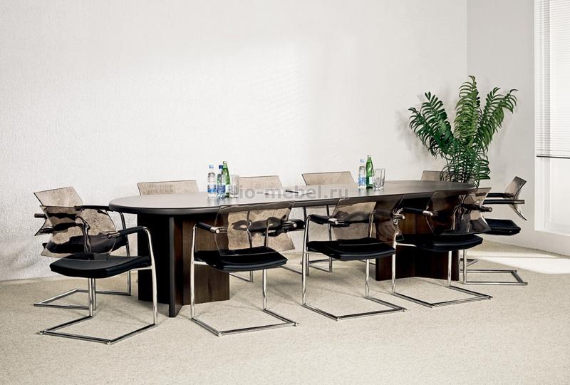 Мебель для переговорных. Серия Selecta Walnut
