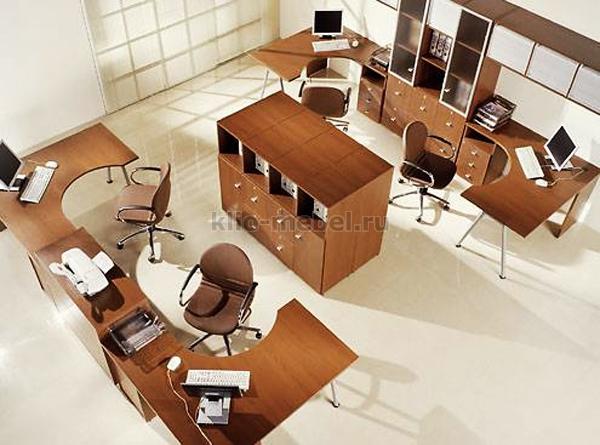 """Офисная мебель персонала """"Квант"""""""