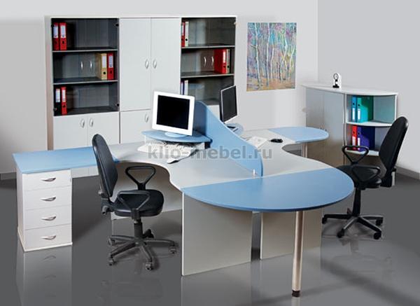 """Офисная мебель персонала """"Эдем-2"""""""