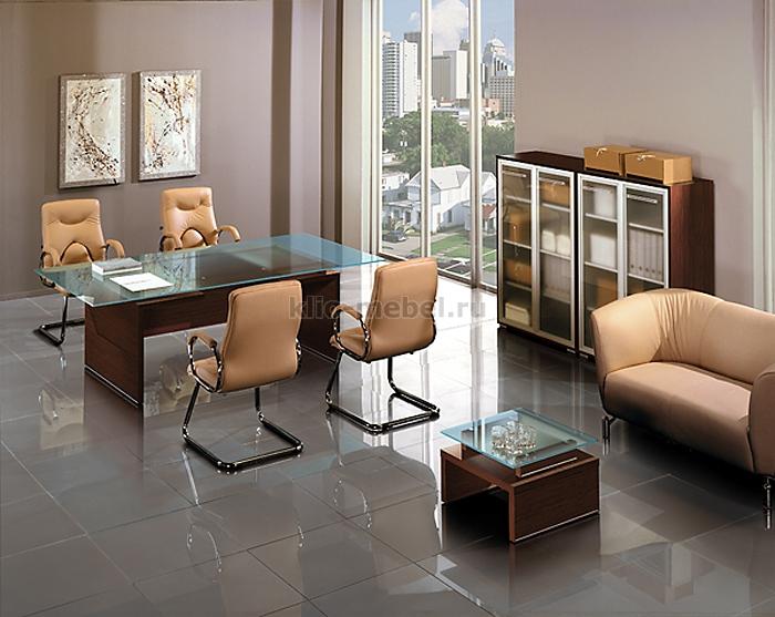 Мебель для переговорных. Серия Дипломат Кристалл