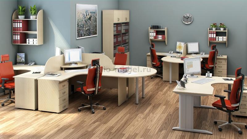 """Офисная мебель персонала """"Агат"""""""