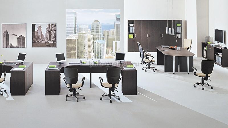 """Офисная мебель персонала """"Simple"""""""