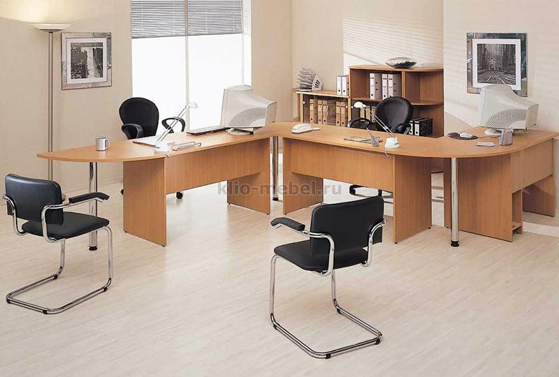 """Офисная мебель персонала """"Imago Груша-Орех"""""""