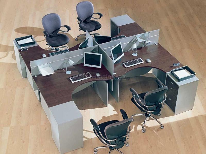 """Офисная мебель персонала """"Offix"""""""