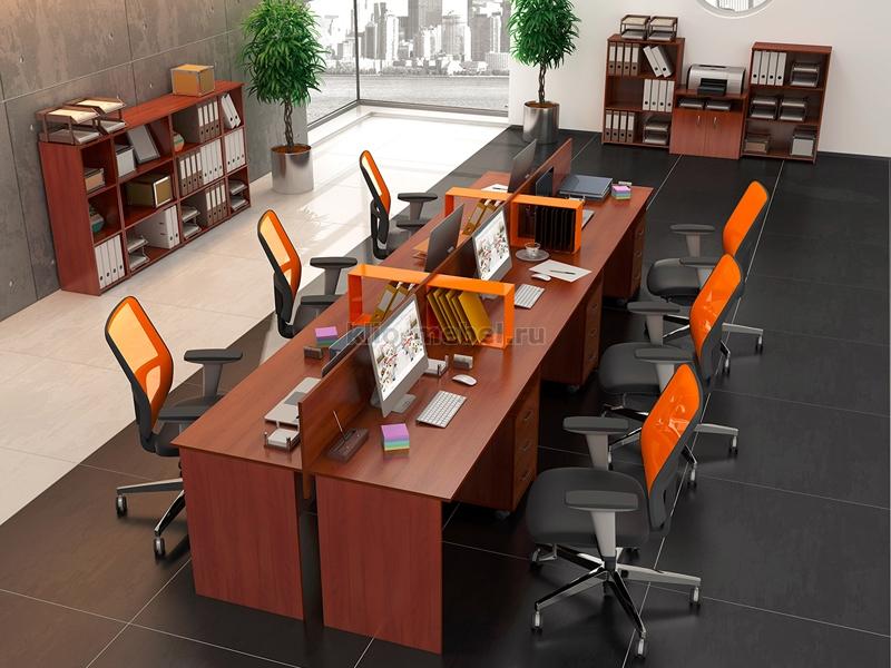 """Офисная мебель персонала """"Эконом"""""""