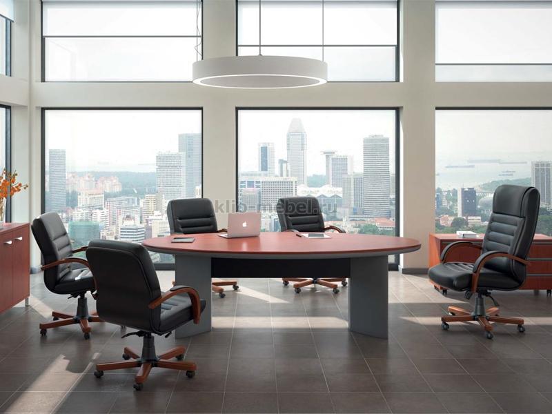 Мебель для переговорных. Серия Manhattan-Pnt