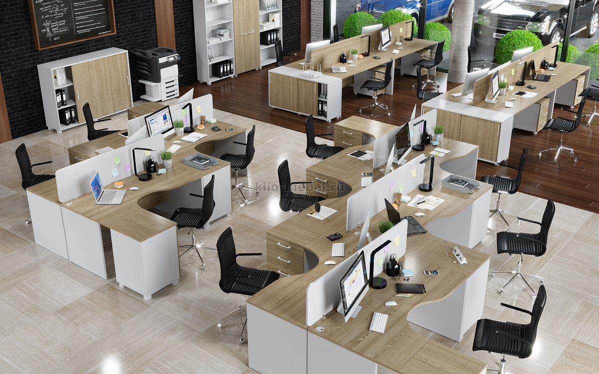"""Офисная мебель персонала """"ALBA"""""""