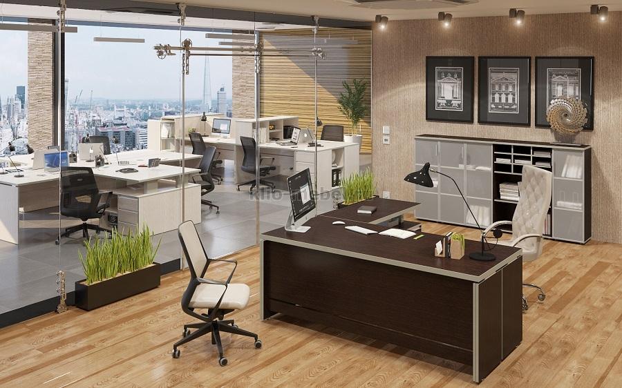 """Офисная мебель персонала """"VITA (сосна ларедо)"""""""